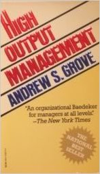 High Output Management book cover