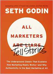 All Marketers Are Liars book cover