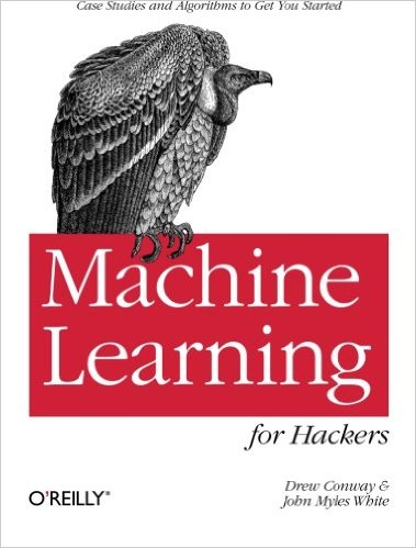 Machine Learning for Hackers book cover