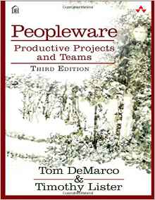 Peopleware: Productive Projects and Teams book cover