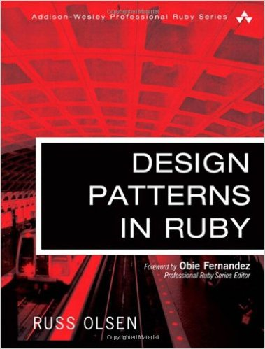 Design Patterns in Ruby book cover