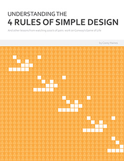 Four Rules of Simple Design book cover