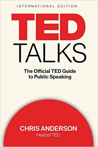 The Official TED Guide to Public Speaking book cover